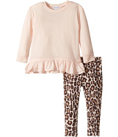 Splendid Littles - Animal Printed Leggings with Light Pink Top (Toddler)