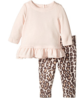 Splendid Littles - Animal Printed Leggings with Light Pink Top (Infant)