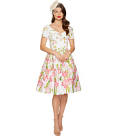Unique Vintage - Short Sleeve Whitman Swing Dress