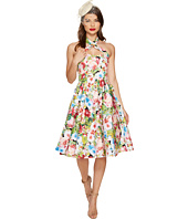 Unique Vintage - Roses Rita Swing Dress