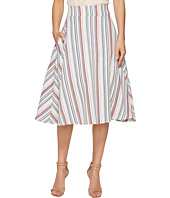 Unique Vintage - High Waist Vivien Swing Skirt