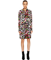 Sonia Rykiel - Runway Flower Viscose Printed Shirtdress