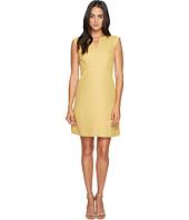 Tahari by ASL - Herringbone A-Line Dress