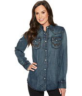 Wrangler - Long Sleeve Snap Western Shirt