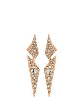 Alexis Bittar - Crystal Encrusted Dangling Origami Post Earrings