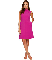 Ellen Tracy - Seamed Mock Neck Dress