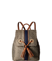 Tommy Hilfiger - TH Grommet Monogram Jacquard Backpack