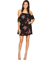 ROMEO & JULIET COUTURE - Embroidery Floral Off the Shoulder Dress