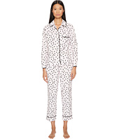 Kate Spade New York - Classic Brushed Twill Pajama Set - Gift Packaged