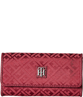 Tommy Hilfiger - Serif Signature Jacquard Continental Wallet