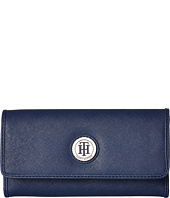 Tommy Hilfiger - Medallion Saffiano Continental Wallet