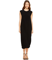 KAMALIKULTURE by Norma Kamali - Sleeveless Twist Midcalf Dress