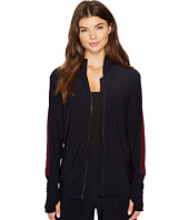 KAMALIKULTURE by Norma Kamali - Side Stripe Turtle Jacket