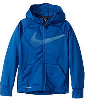 Nike Kids - Therma Full-Zip Training Hoodie (Little Kids/Big Kids)