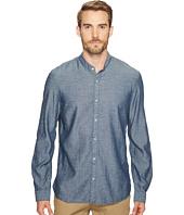 John Varvatos Star U.S.A. - Button Down Banded Collar Shirt