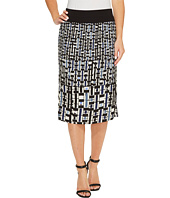 NIC+ZOE - Check Mix Skirt