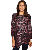 Nally & Millie - Leopard Print Asymmetric Tunic