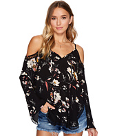 Bishop + Young - Cold Shoulder Peasant Top