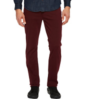 Hudson - Blake Slim Straight Twill in Burgundy