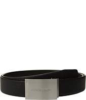 Giorgio Armani - Caviar/Smooth Reversible Belt
