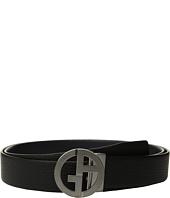 Giorgio Armani - Tumbled/Smooth Reversible Belt