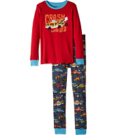 Hatley Kids - Monster Cars Appliqué Pajama Set (Toddler/Little Kids/Big Kids)