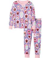 Hatley Kids - Pups Portraits Long Sleeve Pajama Set (Toddler/Little Kids/Big Kids)