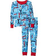 Hatley Kids - Lots of Tools PJ Set (Toddler/Little Kids/Big Kids)