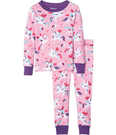 Hatley Kids - Rainbow Unicorns Classic PJ Set (Toddler/Little Kids/Big Kids)