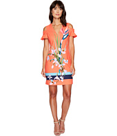 Ted Baker - Leea Tropical Oasis Cut Out Tunic