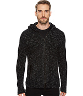 John Varvatos Star U.S.A. - Fisherman Ribbed Sweater Hoodie