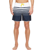 Original Penguin - Engineered Stripe Fixed Volley Swim Trunk