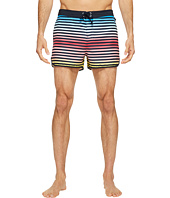 Original Penguin - Ombre Stripe Fixed Volley Swim Trunk