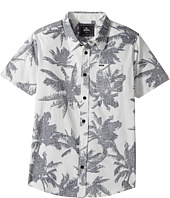 Rip Curl Kids - Palm Time Short Sleeve Shirt (Big Kids)