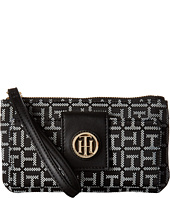 Tommy Hilfiger - TH Serif Signature - Snap Wristlet