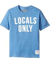 The Original Retro Brand Kids - Locals Only Short Sleeve Tri-Blend Tee (Big Kids)