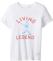 The Original Retro Brand Kids - Living Legend Vintage Cotton Short Sleeve Tee (Little Kids/Big Kids)