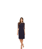 Tahari by ASL - Lace Sleeve Sheath Dress