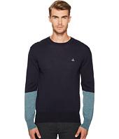 Vivienne Westwood - Color Block Crew Neck Sweater