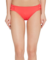 LAUREN Ralph Lauren - Beach Club Solids Shirred Side Tab Hipster Bottom