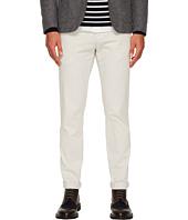 eleventy - Flat Front Regular Fit Stretch Cotton Pants