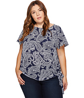 MICHAEL Michael Kors - Plus Size Samara Side Tie Top
