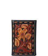 M&F Western - 3-Tone Laced Edge Trifold Wallet