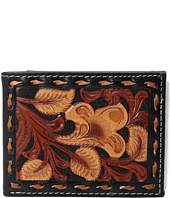 M&F Western - 3-Tone Laced Edge Bifold Wallet