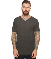 Scotch & Soda - V-Neck Tee in Multicolor Melange Jersey Quality