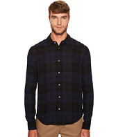 Vince - Two-Tone Plaid Long Sleeve Shirt
