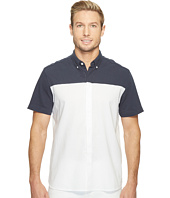 Perry Ellis - Short Sleeve Color Block Shirt