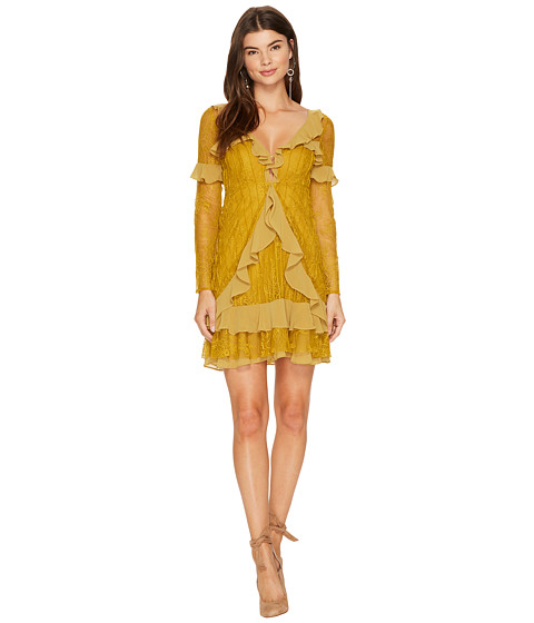 For Love and Lemons Daphne Lace Mini Dress