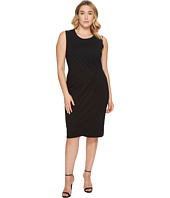 B Collection by Bobeau Curvy - Plus Size Capri Ponte Dress