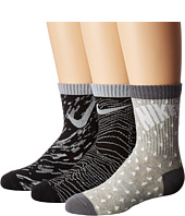 Nike Kids - 3-Pair Pack Pattern Crew Socks (Toddler)